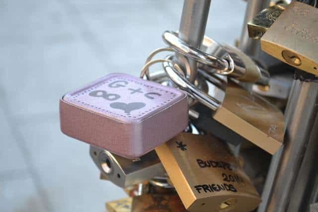 Unusual Love Lock Locations
