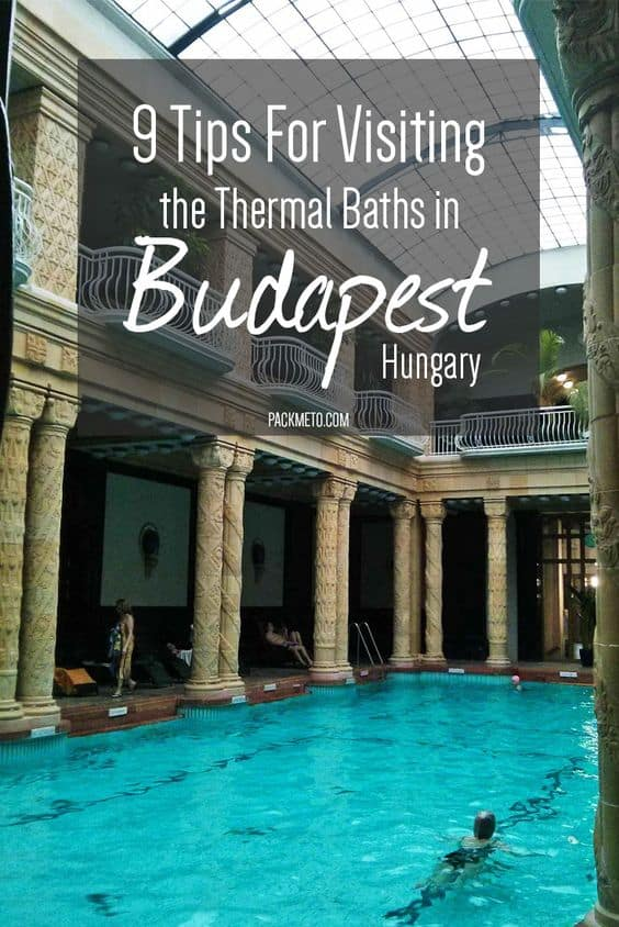 Whether you go to Széchenyi or Gellert bathes in Budapest, Hungary, here are 9 tips to make your visit to the thermal baths completely effortless and full of relaxation.