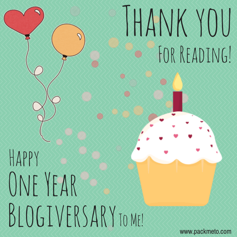 Blogiversary Thank You