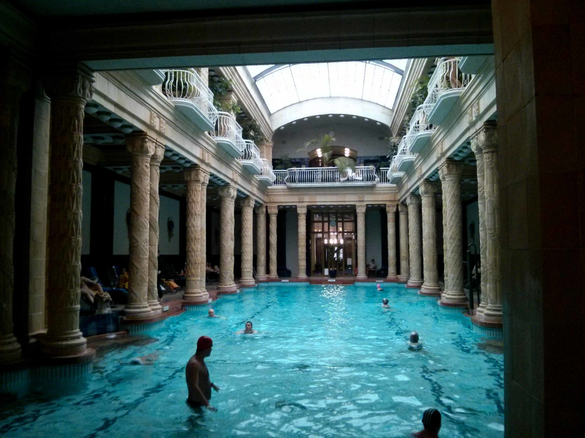 Finding Relaxation at Gellert Baths