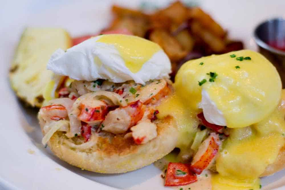 Joe Fortes Brunch Lobster Benny