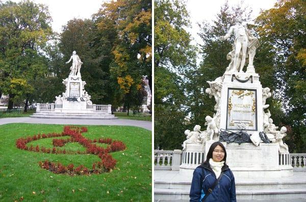 Mozart-Statue-StadtPark-Vienna
