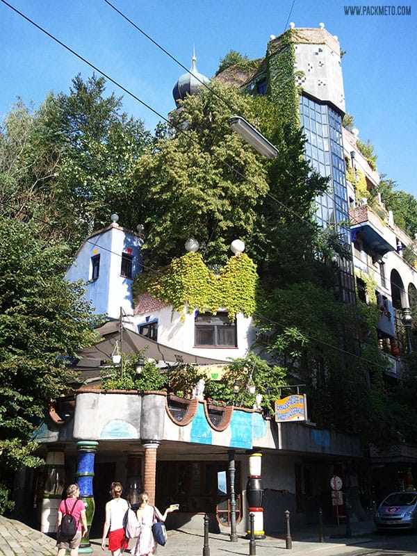 The Hundertwasser House, Vienna | packmeto.com