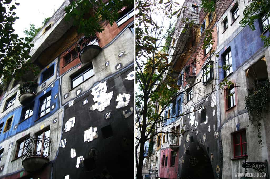 The Hundertwasser House, Vienna | packmeto.com