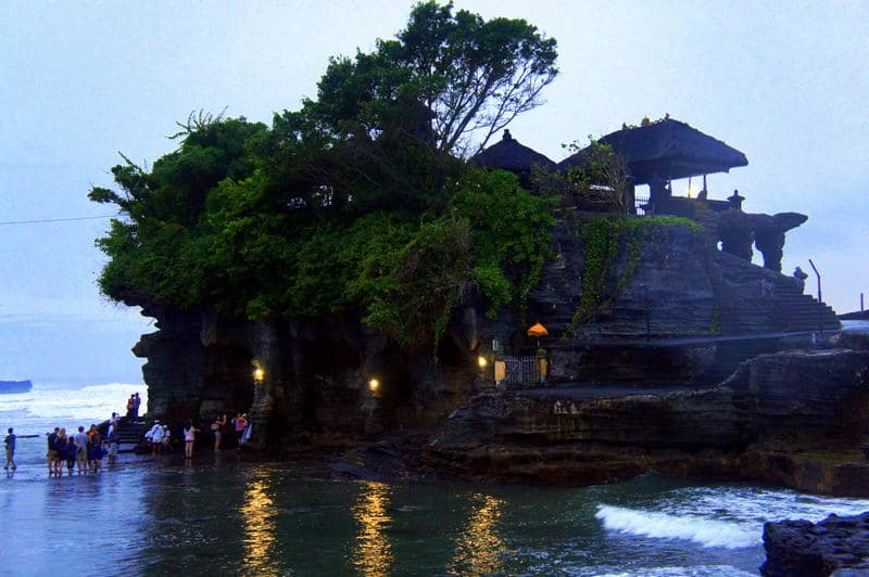 Tanah Lot Temple - The 3 Most Beautiful Temples Not to Miss in Bali, Indonesia
