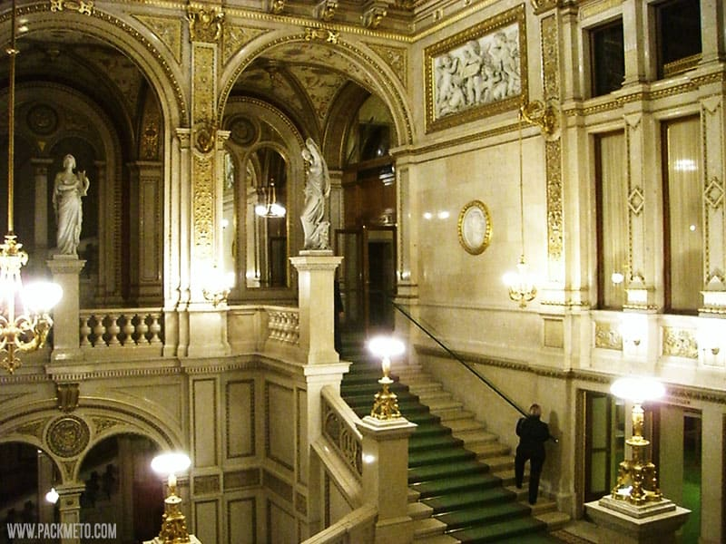 Vienna Opera | A Ride Around the Ringstrasse | packmeto.com