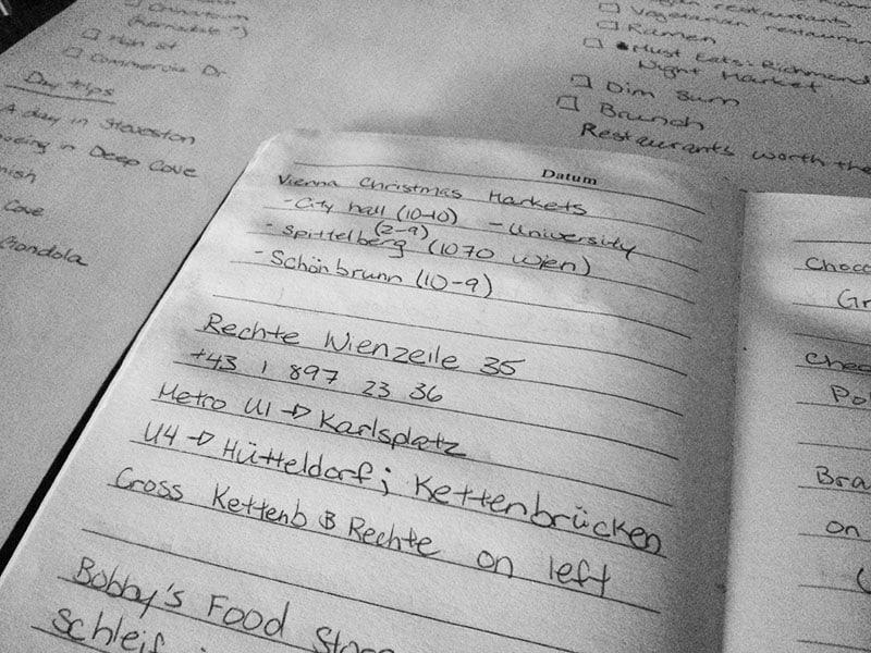 Planning for Vienna