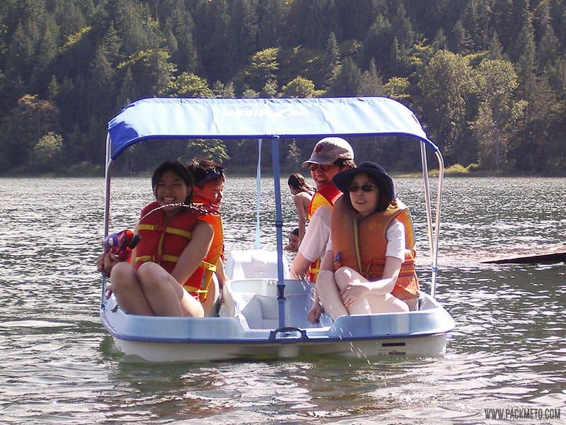 Salt Spring Island Paddle Boat