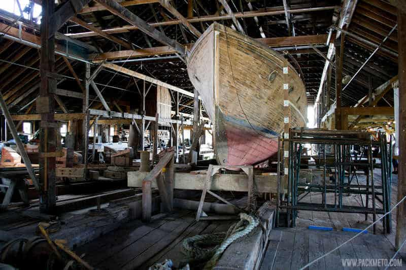 Britannia Shipyards Ship Restoration