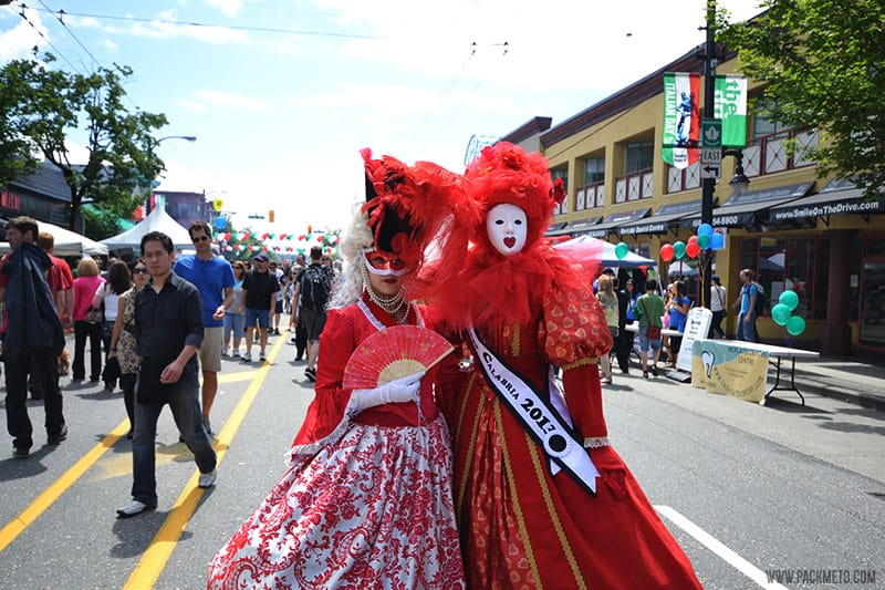 Italian Day Vancouver Commercial Drive
