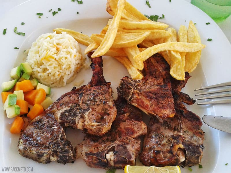 Lamb Chops | 10 Things You Must Eat in Greece | packmeto.com