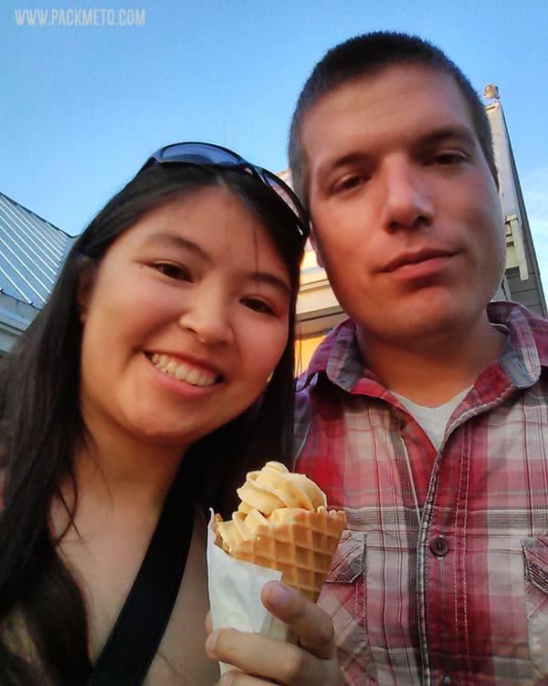 Timothy's Frozen Yogurt Steveston | A Perfect Day in Steveston Village, Richmond BC | packmeto.com