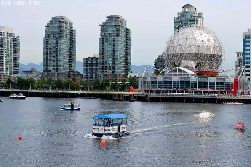 The iconic Science World |The Neighbourhoods of Vancouver – A Visitor's Guide | packmeto.com