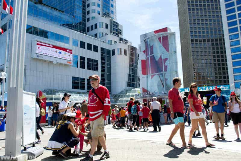 Celebrating Canada Day in Vancouver