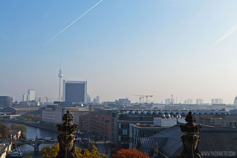 Overlooking Berlin From Reichstag