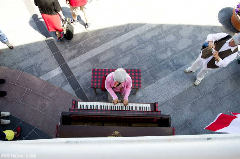 Open Piano | Celebrating Canada Day in Vancouver | packmeto.com