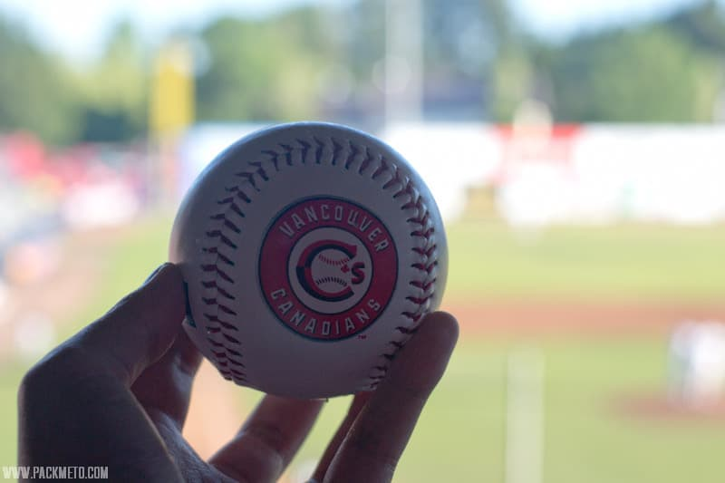 Vancouver Canadians Souvenir Baseball
