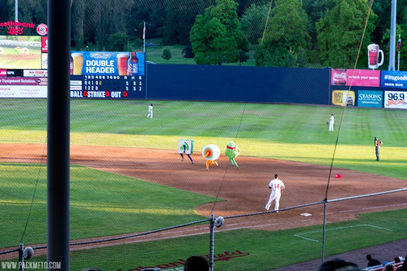 Vancouver Canadians Sushi Race