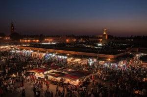 Overlooking Jemaa el-Fna // Photo: Grand Parc