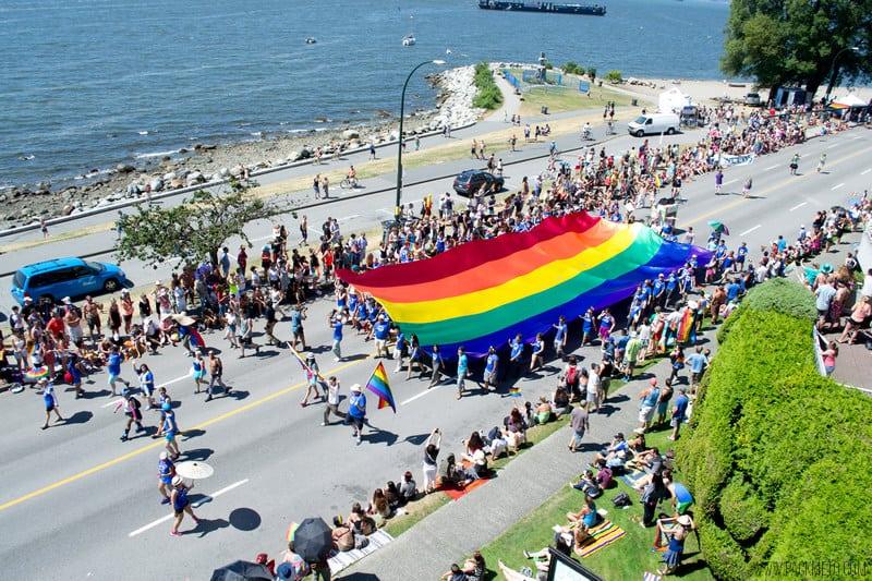 The 2014 Vancouver Pride Parade in Photos
