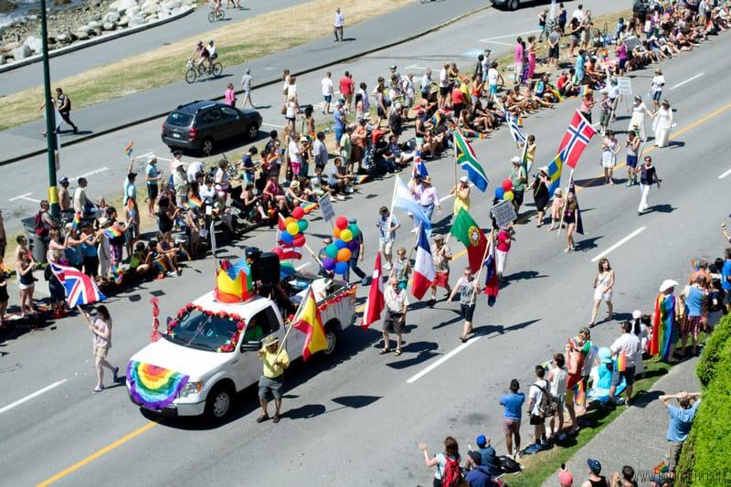 Vancouver Pride 2014 Flags | packmeto.com