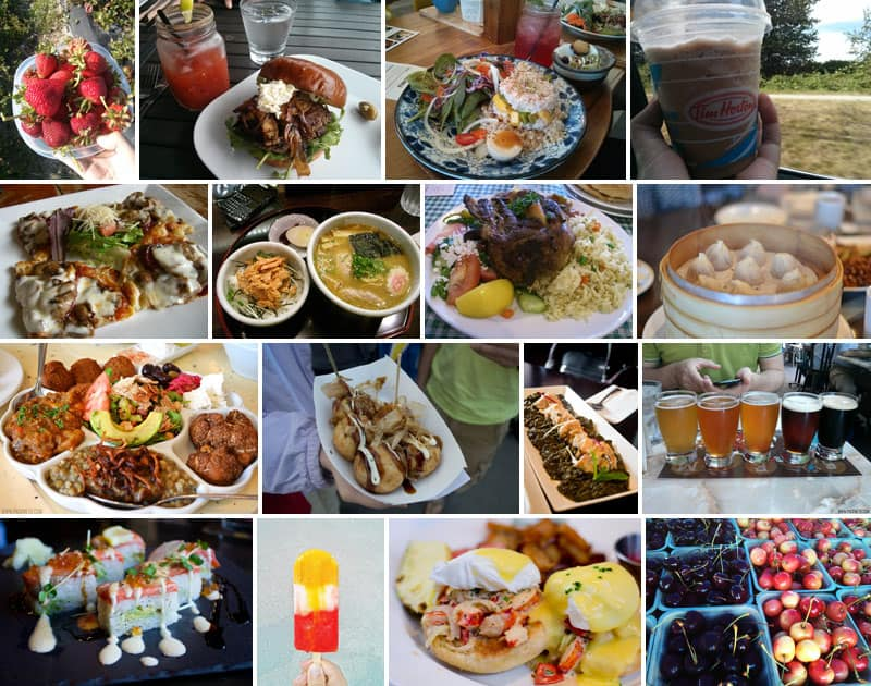Vancouver Food | 20 Reasons Why British Columbia is the Best Place on Earth | packmeto.comAssortment