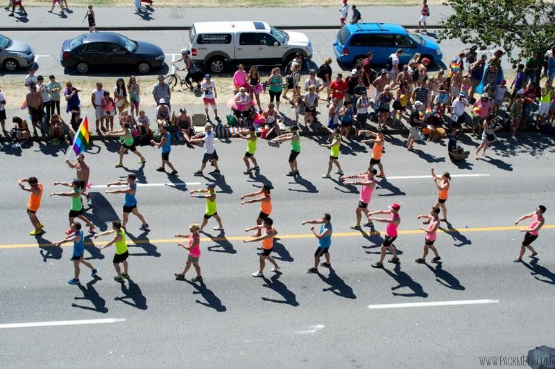 Vancouver Pride 2014 Dancers