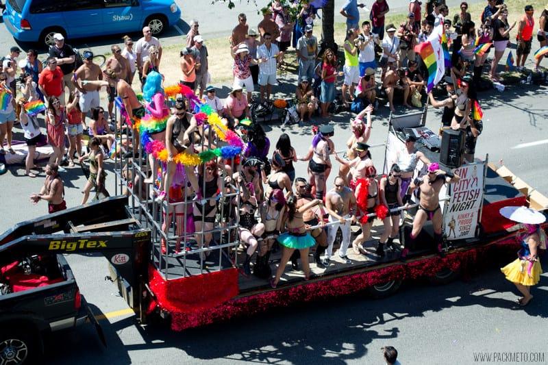 Vancouver Pride 2014 Sin City