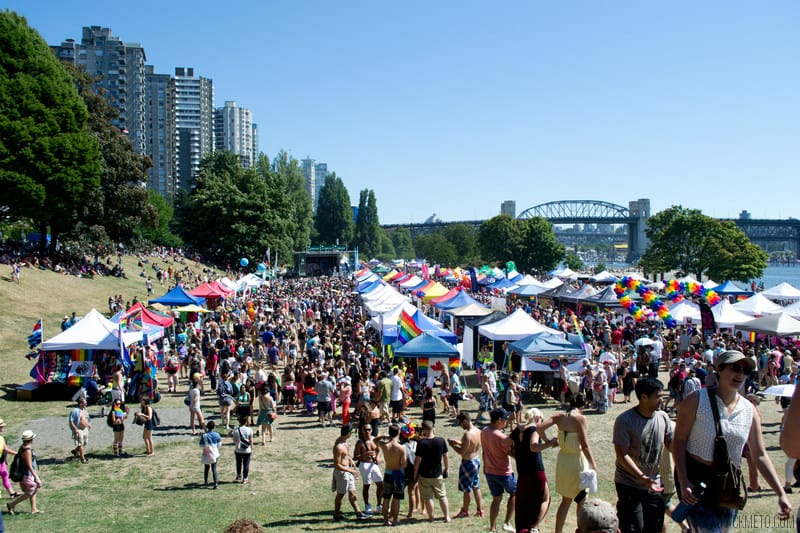 Vancouver Pride 2014 Sunset Beach | packmeto.com