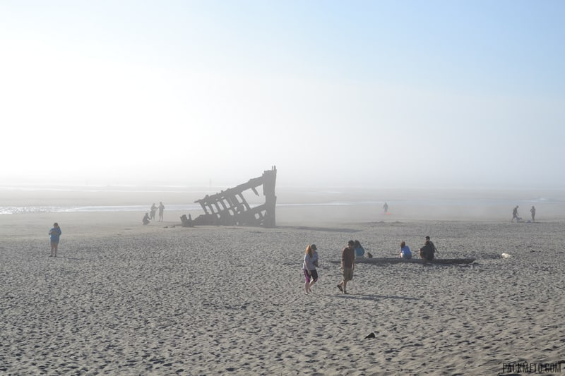 A first glimpse of the Peter Iredale | packmeto.com