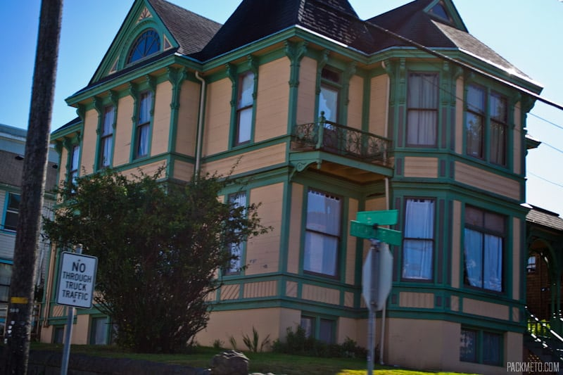 Astoria Residential Building | 3 Hours in Astoria Oregon | packmeto.com