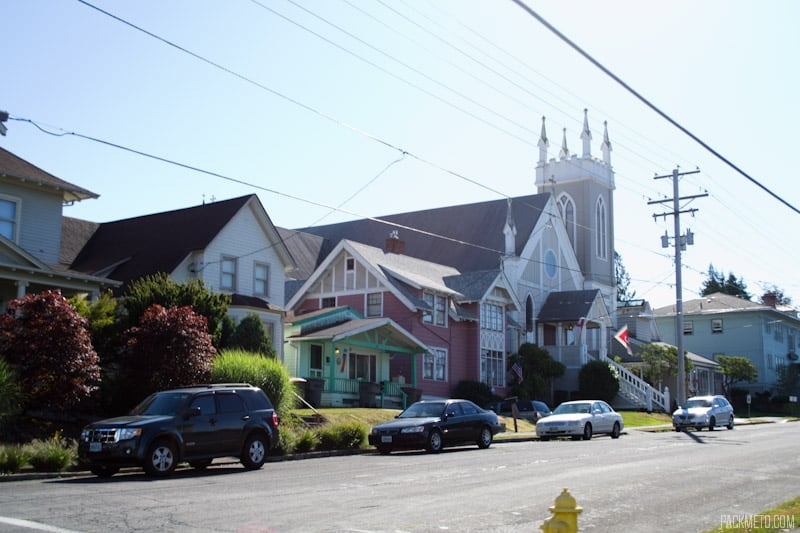 Astoria Residential Street | 3 Hours in Astoria Oregon | packmeto.com