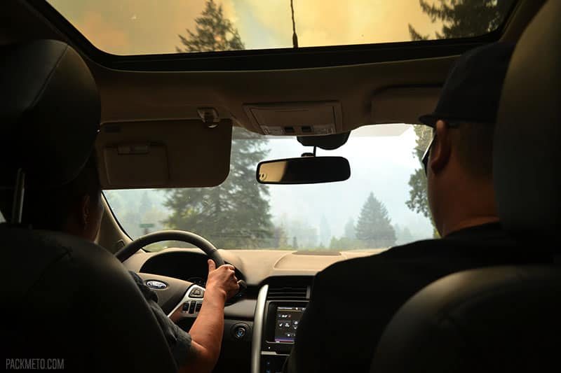 Driving Through a Fire Zone | Highlights from Roadtripping Through Oregon | packmeto.com