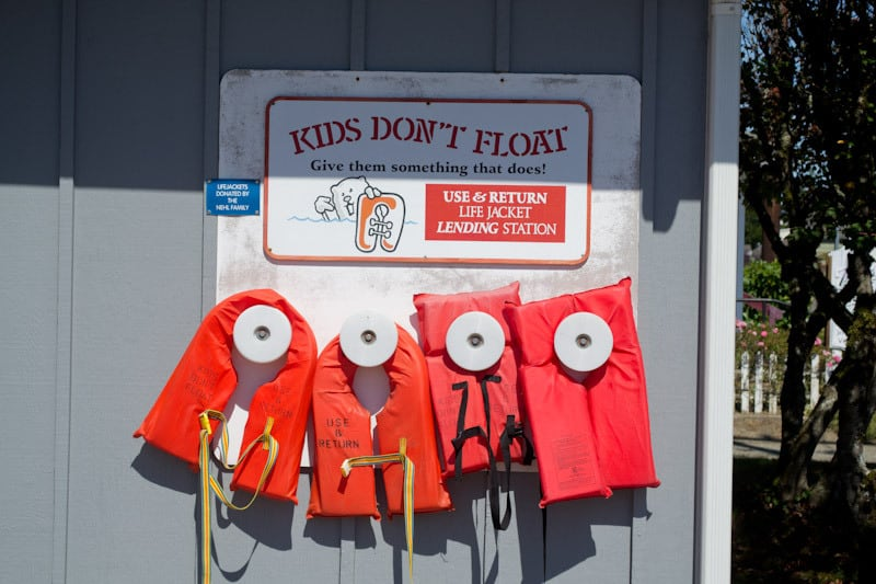 Florence Oregon Childrens PFD
