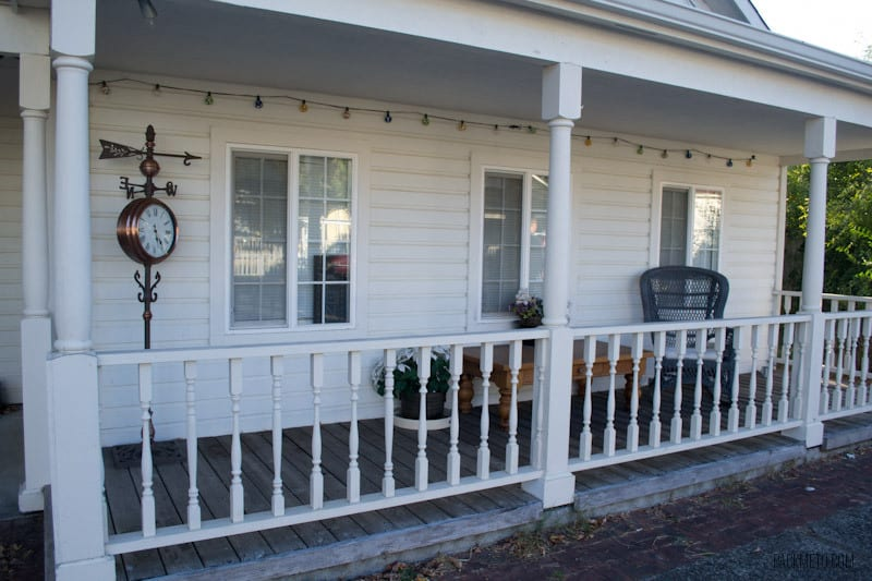 Florence Oregon Front Porch