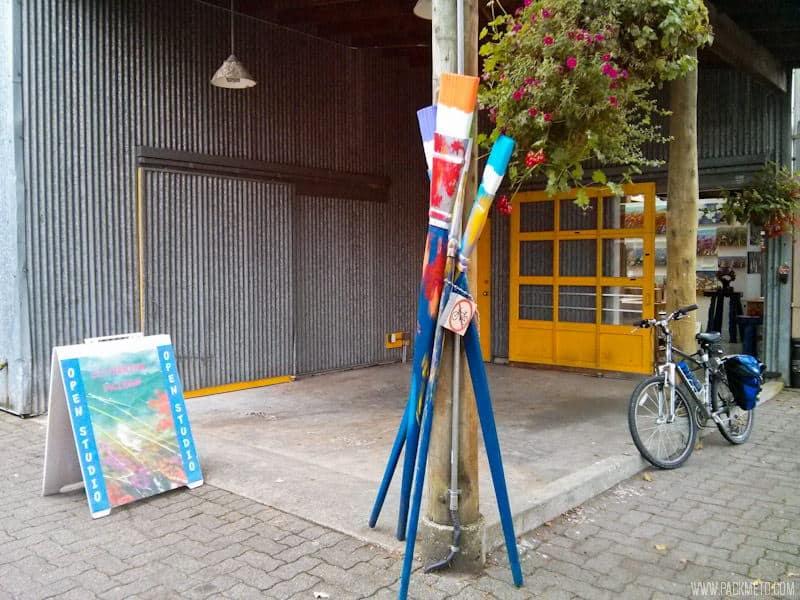 Artist Studios @ Granville Island - Art, Food and the Great Outdoors | packmeto.com