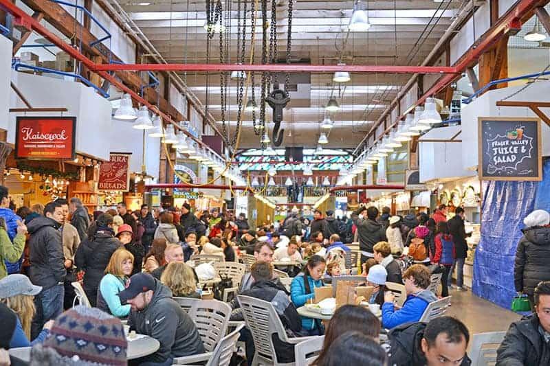 Granville Island Public Market Food Court