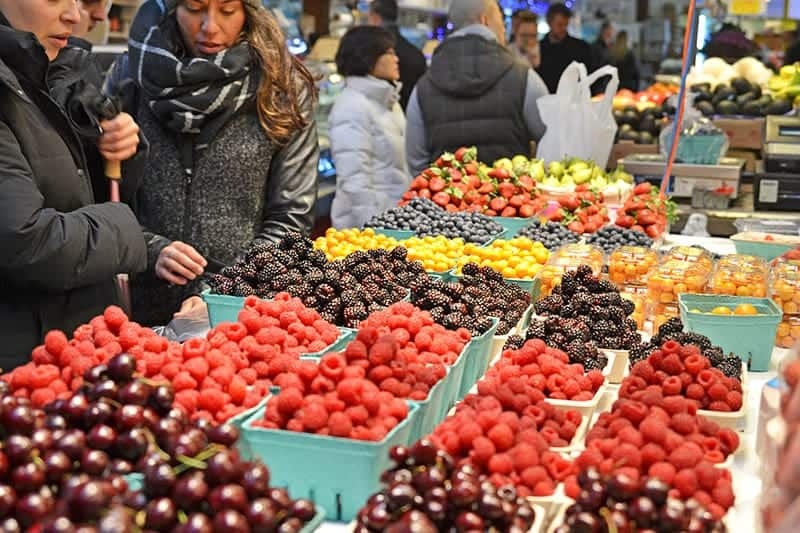 Granville Island Public Market Fruit Stall