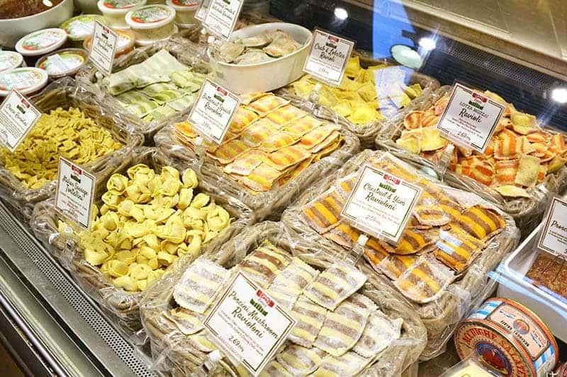 Granville Island Public Market Pasta Case