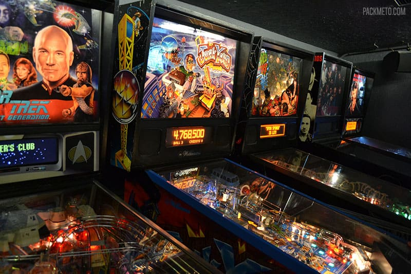 Ground Kontrol Pinball Machines | Highlights from Roadtripping Through Oregon | packmeto.com