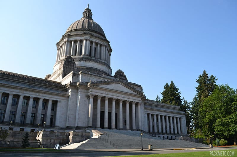 Olympia State Capitol | Highlights from Roadtripping Through Oregon | packmeto.com