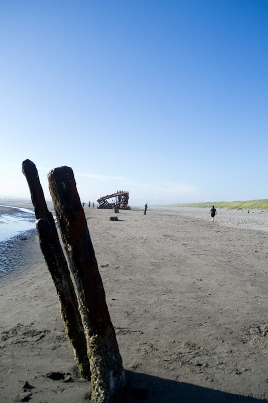 Peter Iredale Shipwreck Length of Boat | packmeto.com