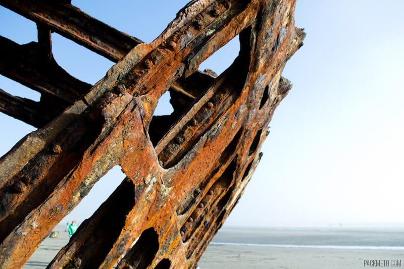 Peter Iredale Shipwreck | packmeto.com