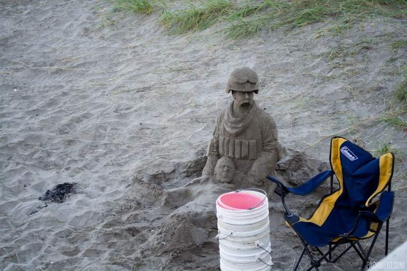 Seaside Sand Sculpture - Impressions of Seaside, Oregon | packmeto.com