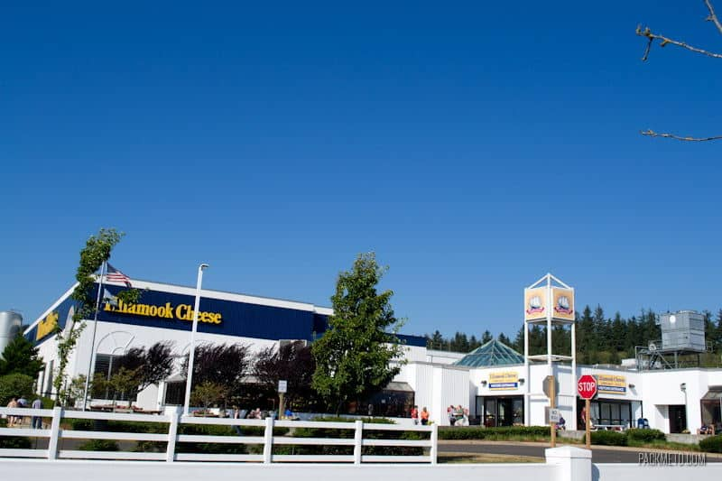 Tillamook Cheese Factory Outside