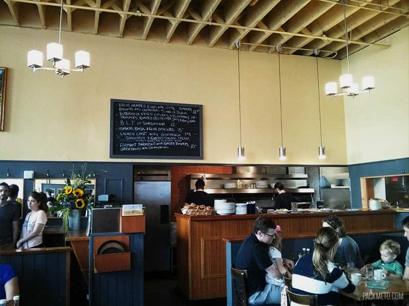 Bijou Cafe Inside