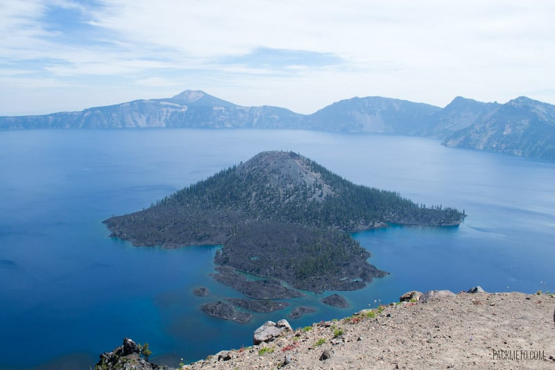 Wizard Island - A day at Crater Lake National Park | packmeto.com