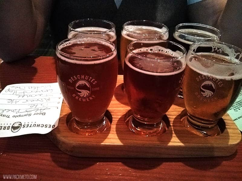 Portland Deschutes Brewery | 7 Free Things To Do in Portland, Oregon | packmeto.com