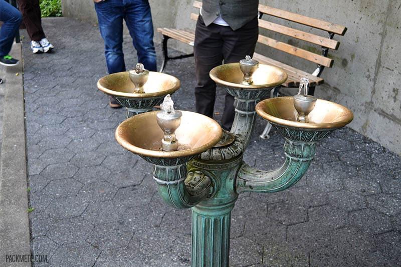 Portland Water Fountain