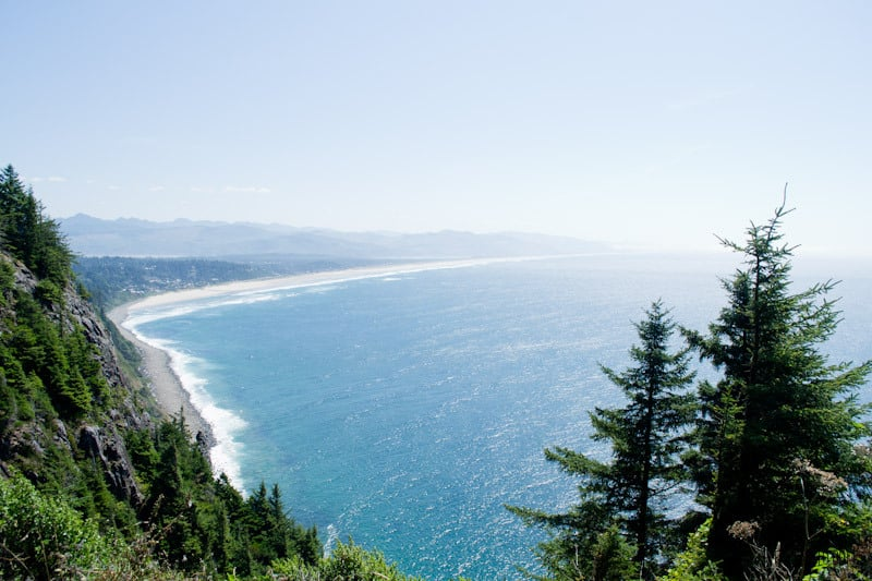 Oregon Coast View Point